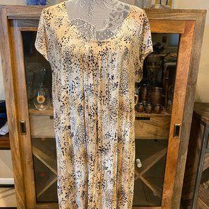 Cute animal print dress by Anne Klein size L